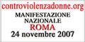 Manifestazione Nazionale contro la violenza sulle donne