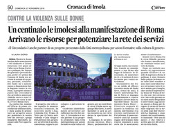 Articolo Laura Giorgi sul Corriere di Romagna