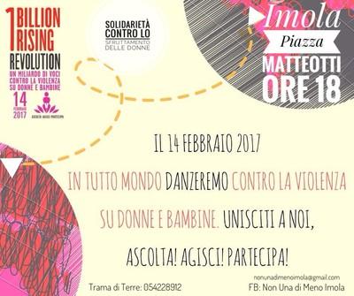 Volantino One Billion Rising 2017
